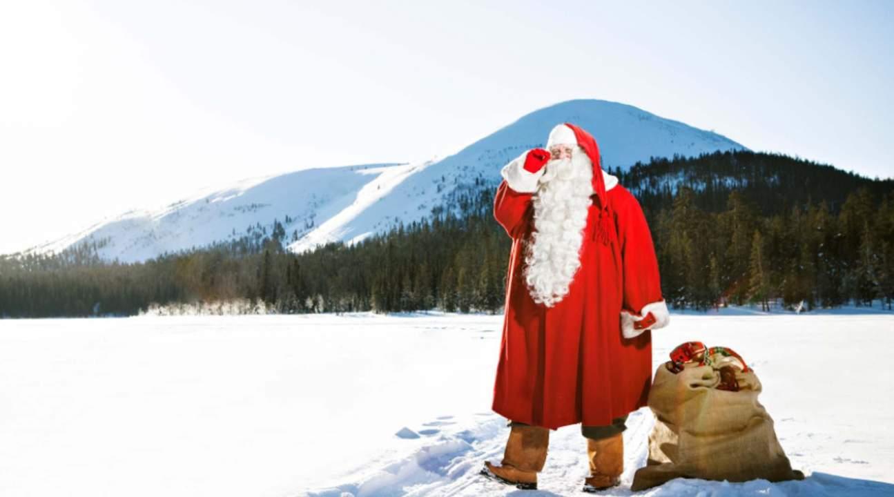Meet Santa Claus at the Arctic Circle
