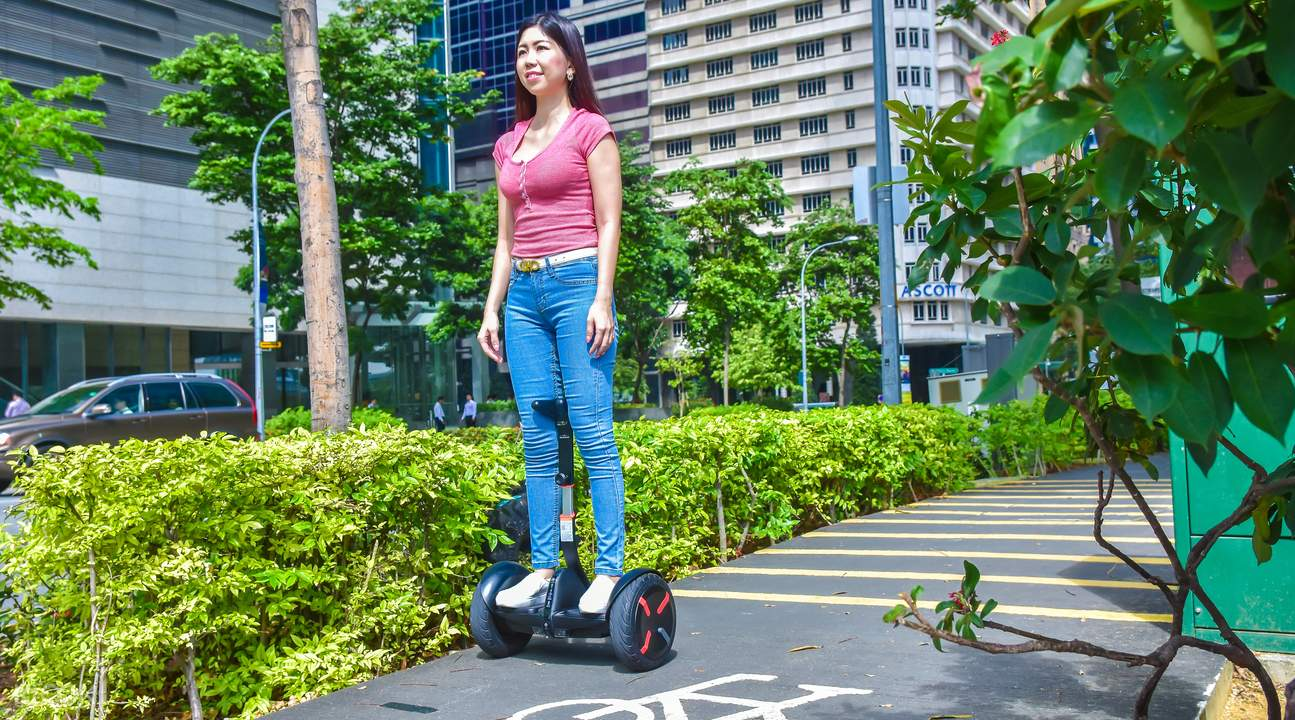 滨海湾 Segway miniPRO & 电动滑板车 & 自行车租赁
