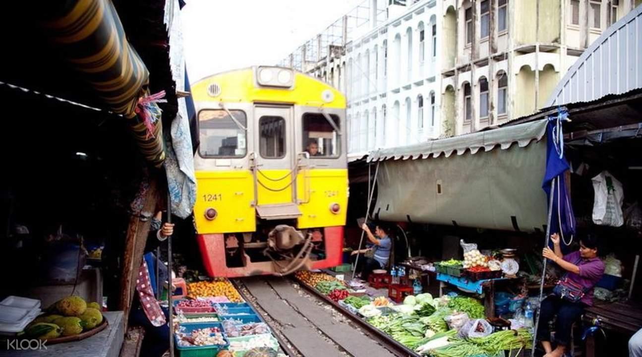 Railway Market Thailand