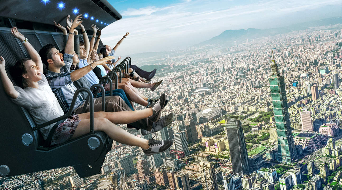 i-Ride Taipei Flying Cinema