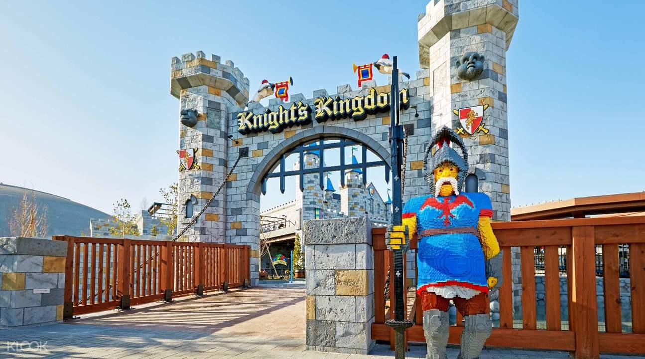 進入到樂高專屬的世界,絕對帶給你不一樣的遊樂園體驗!