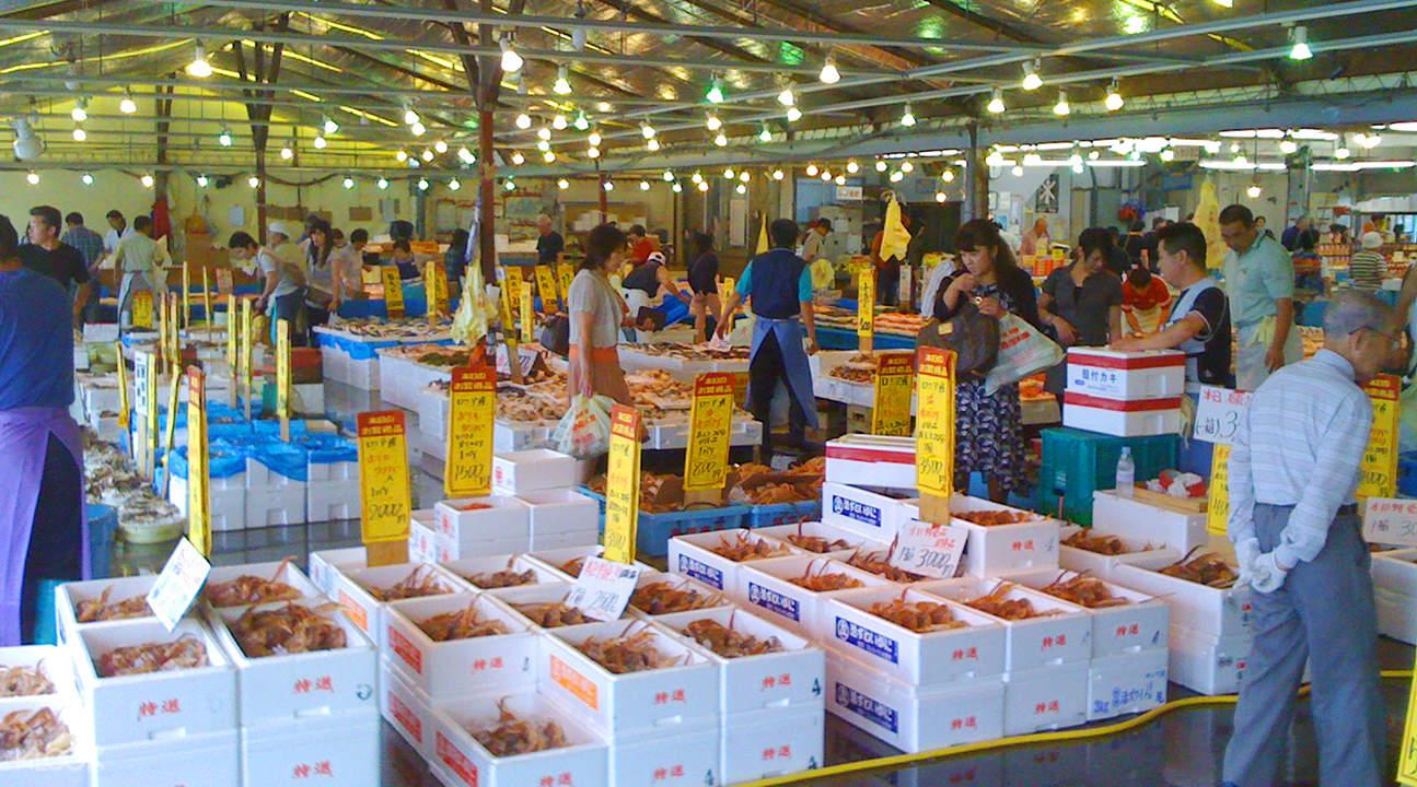 那珂凑鱼市场