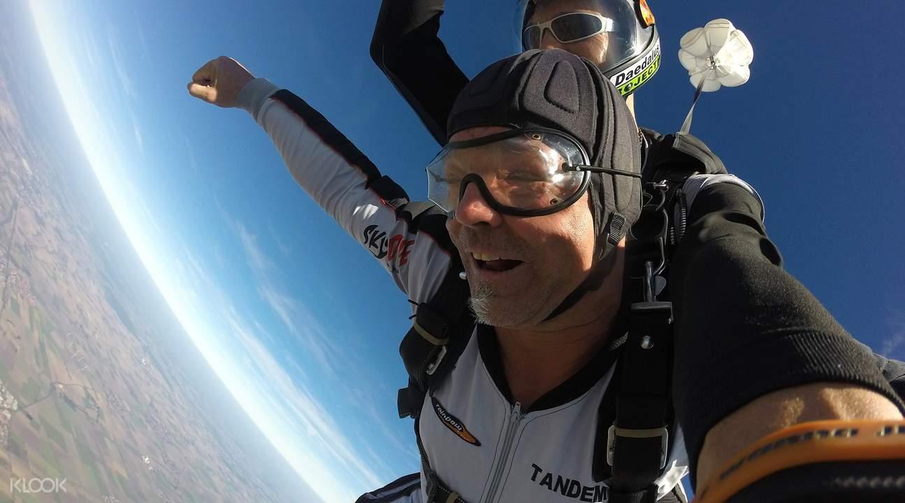 澳洲凯恩斯跳伞