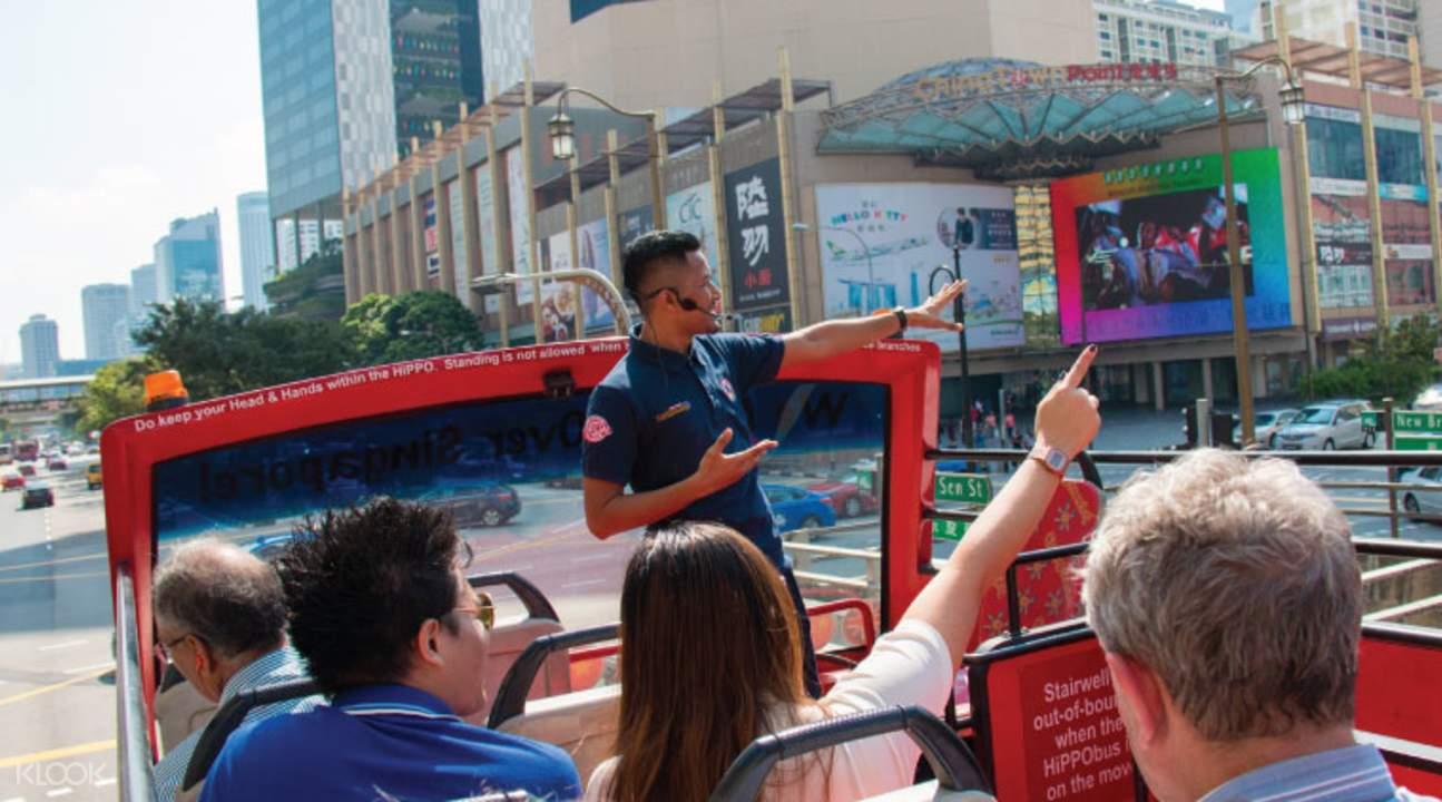 新加坡敞篷雙層觀光巴士
