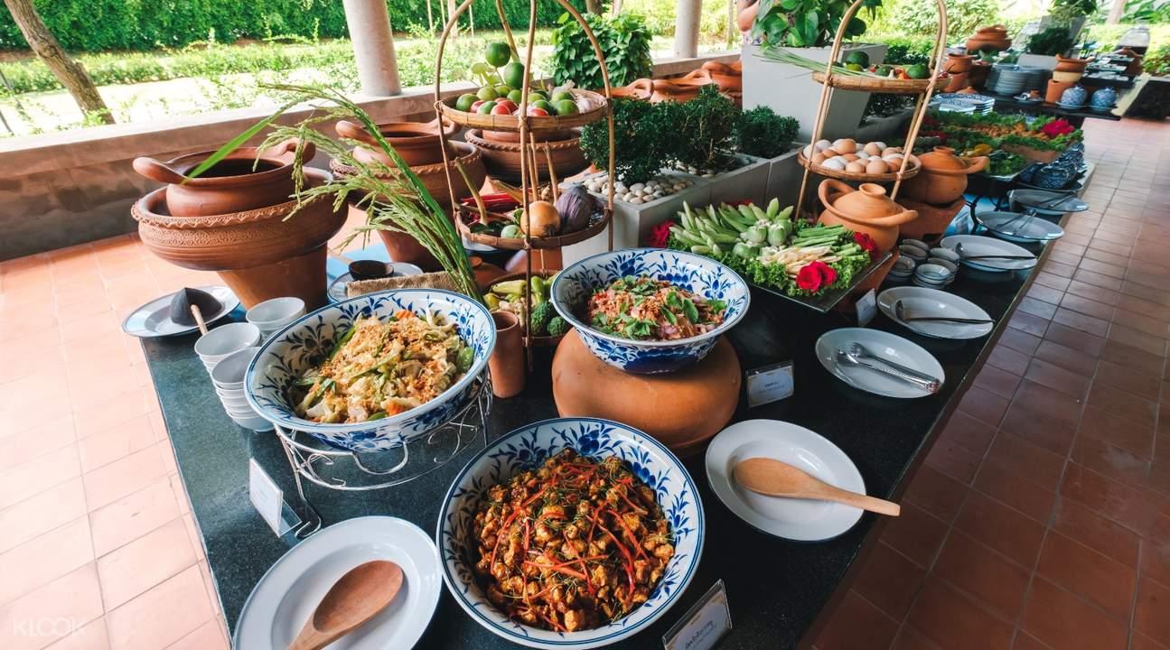 buffet in mallika