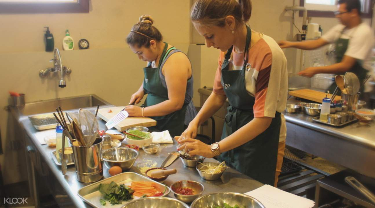 中級韓食烹飪課程