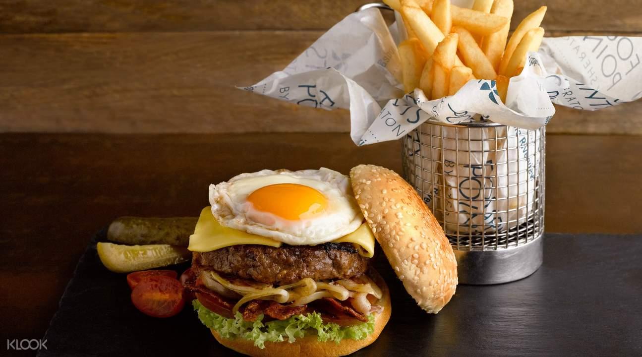 The Best Brew 罗伯逊码头Crusty Aussie Burger