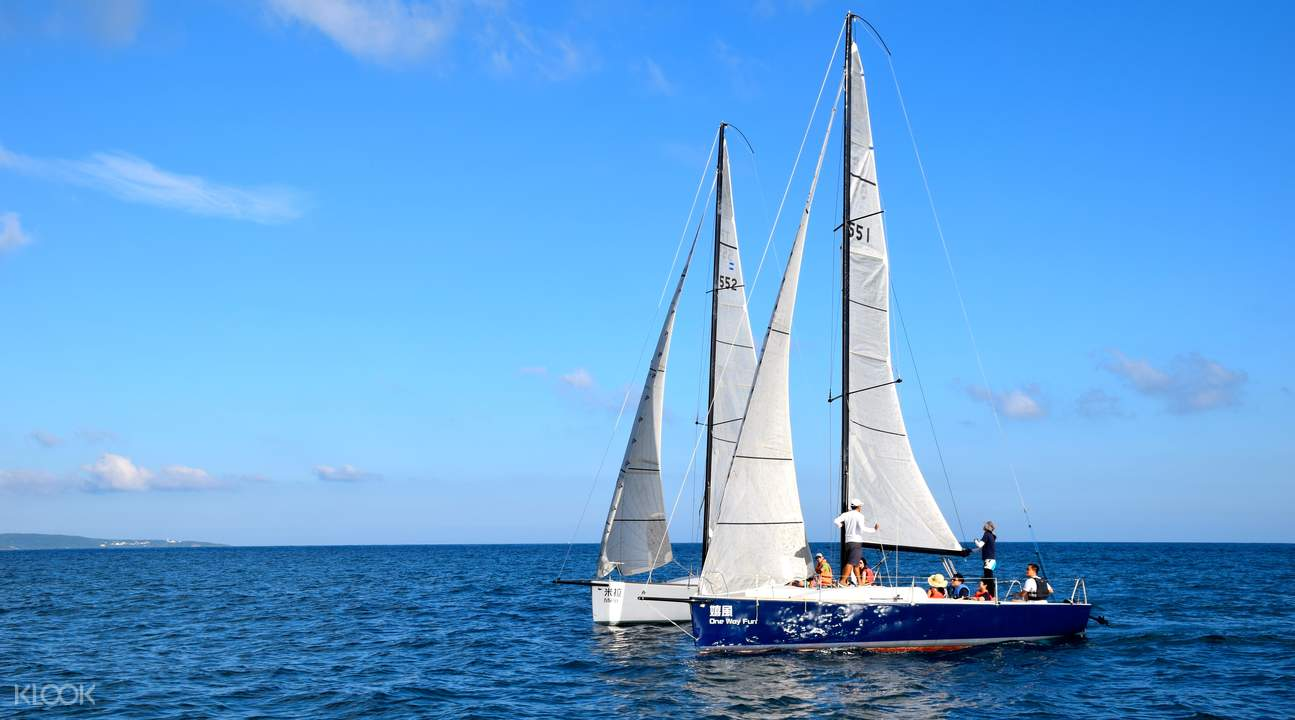 yacht Sailing In Kenting