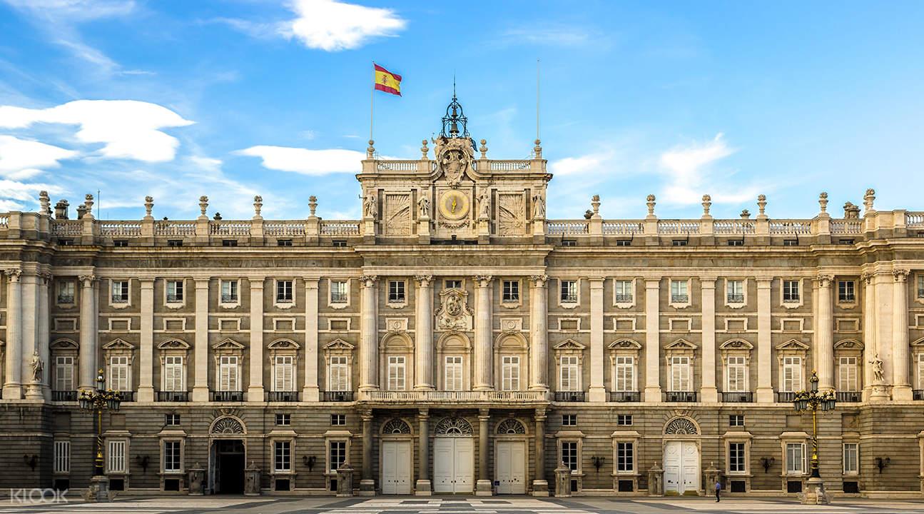 palacio real combo tour