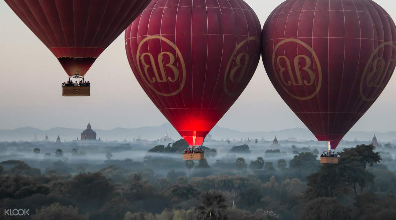 Inle Lake Hot Air Balloon Sunrise Experience by Balloons Over Bagan