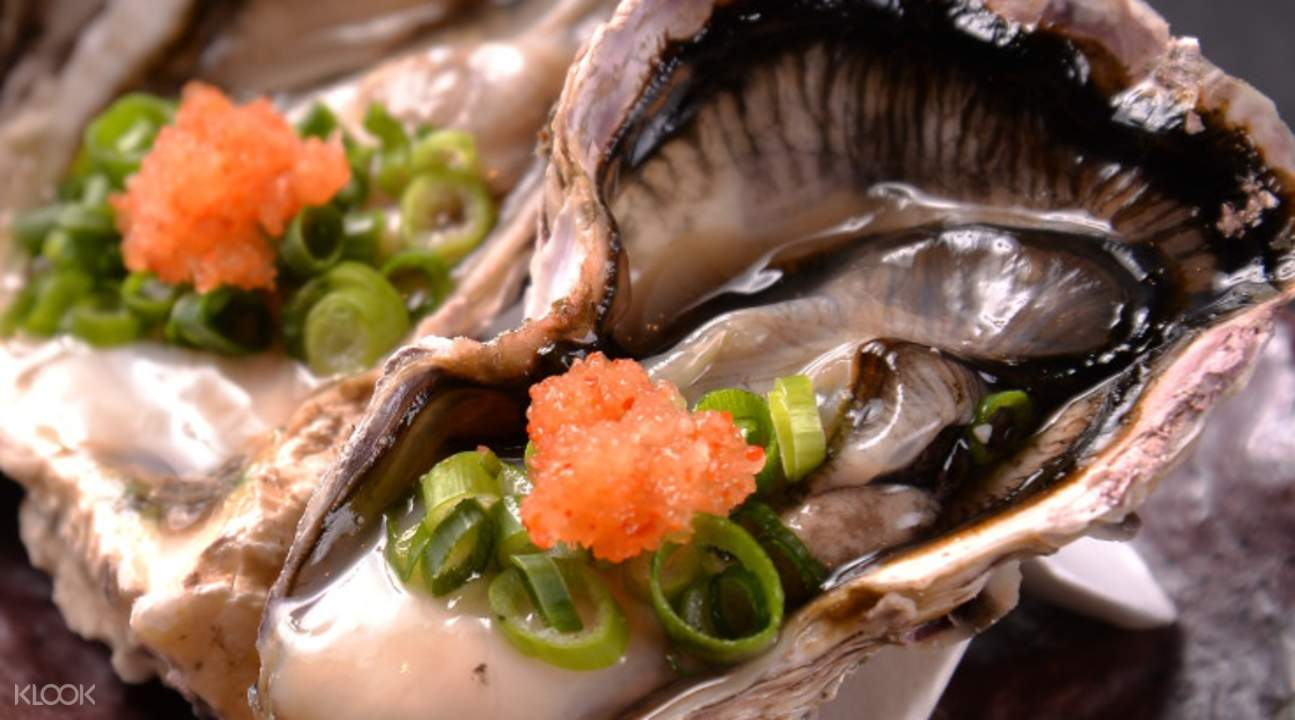 seafood and beef umaimon minato japan