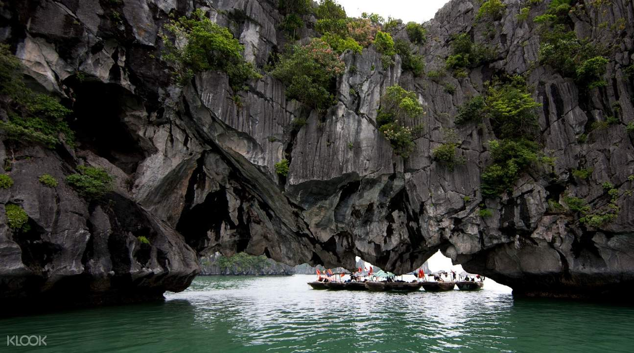 luon cave ti top island halong bay full day tour from hanoi