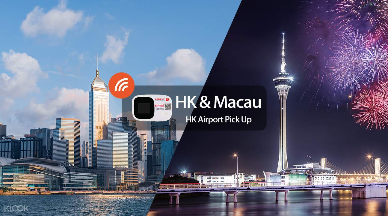 Macau 4G WiFi Device Rental - Klook