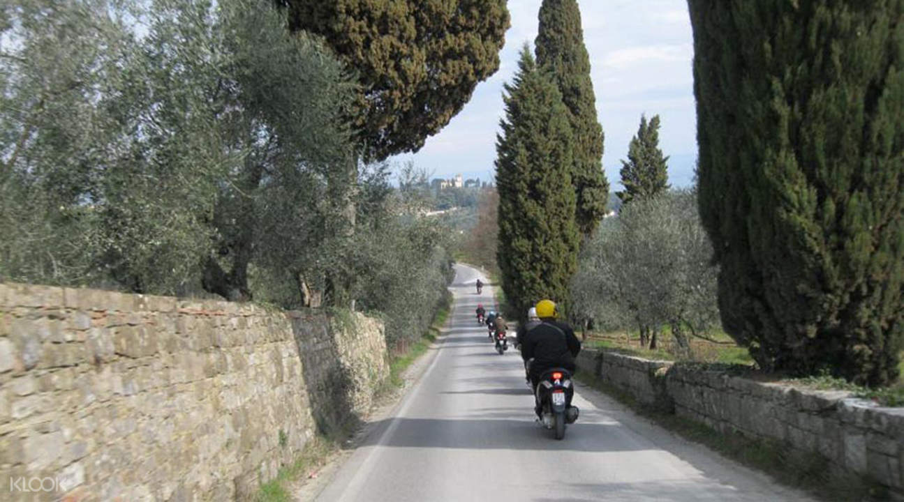 Vespa Tour Tuscan Countryside