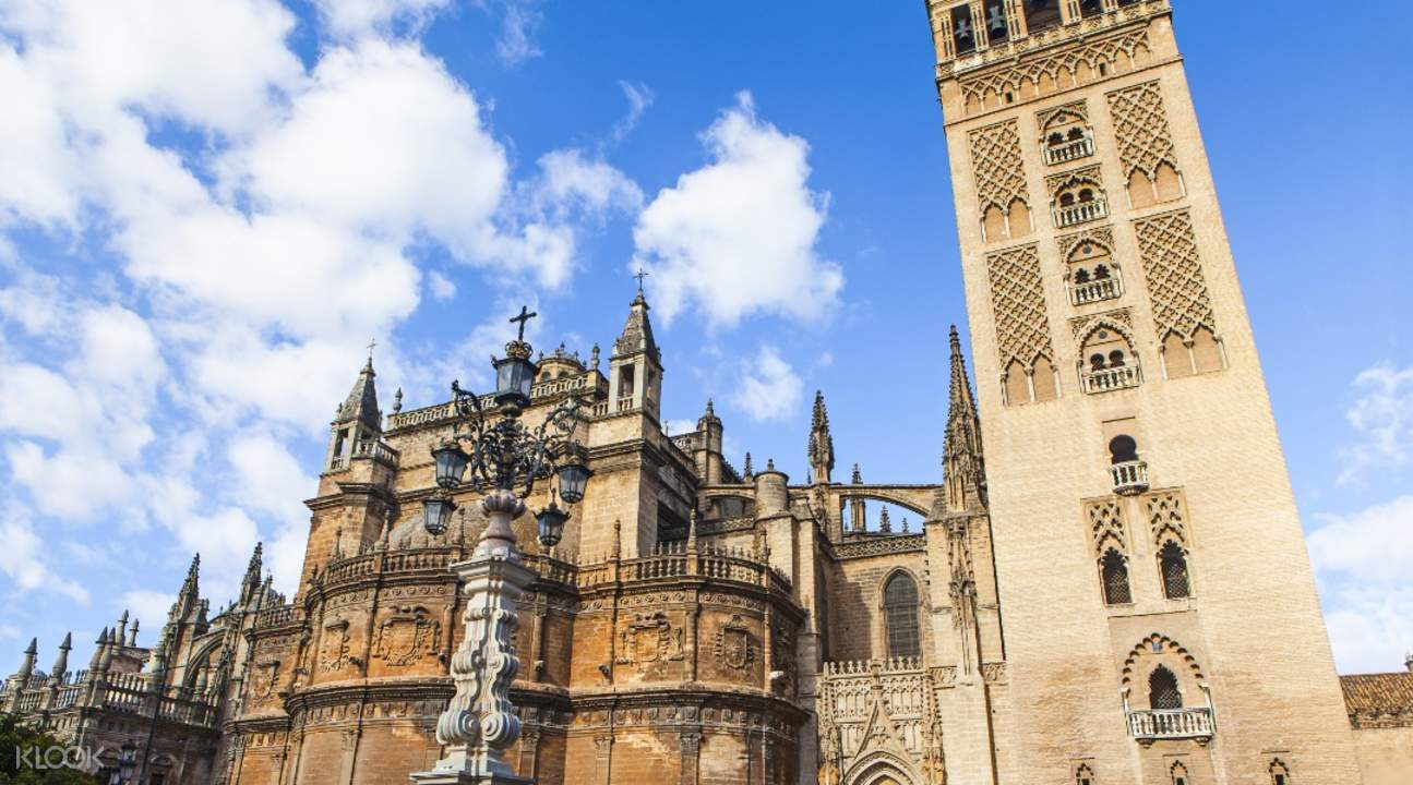 Cathedral, Alcazar, & Giralda Guided Tour Combo Tickets in