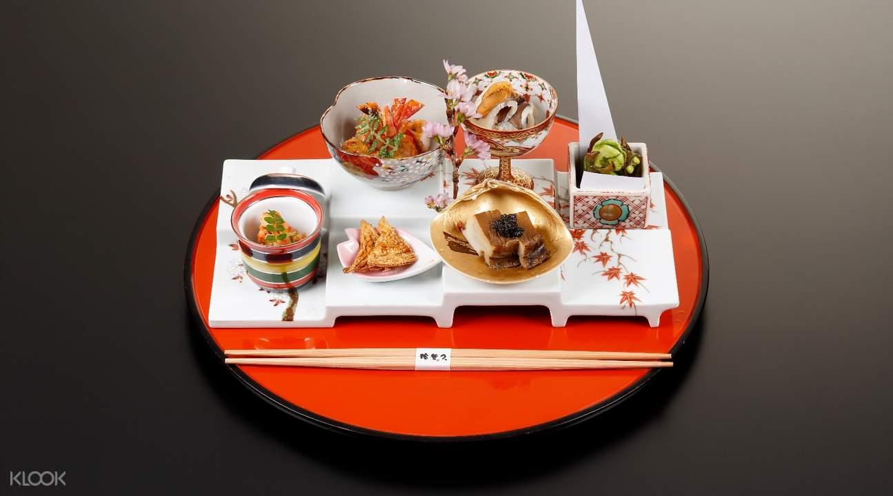 appetizer hamatoku kaiseki kyoto