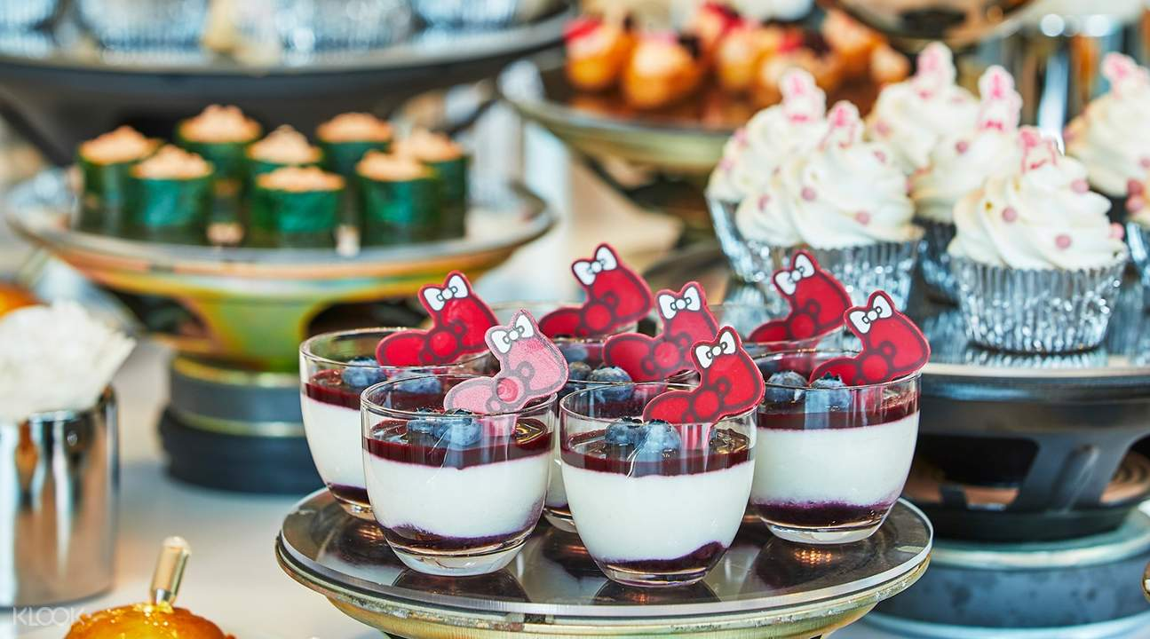 Hello Kitty Bingsu Dessert Buffet at JW Dongdaemun Marriott Hotel in Seoul South Korea