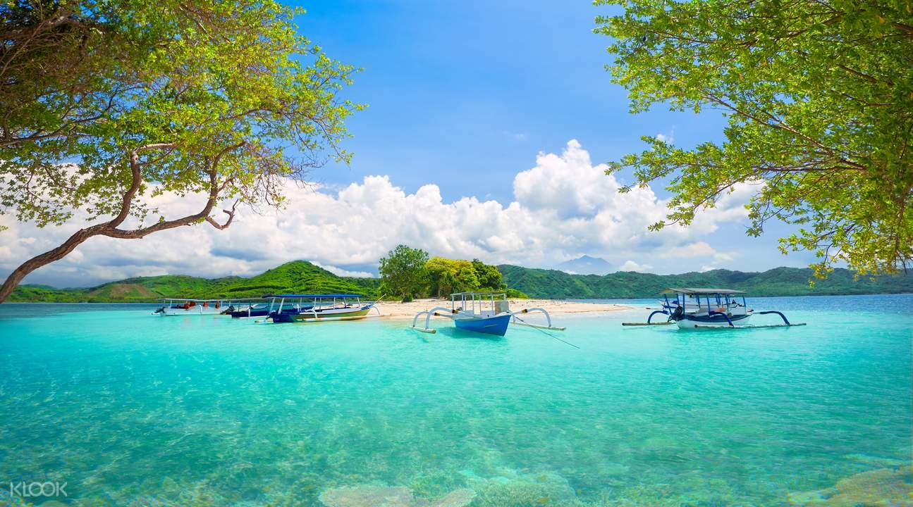 龙目岛小岛
