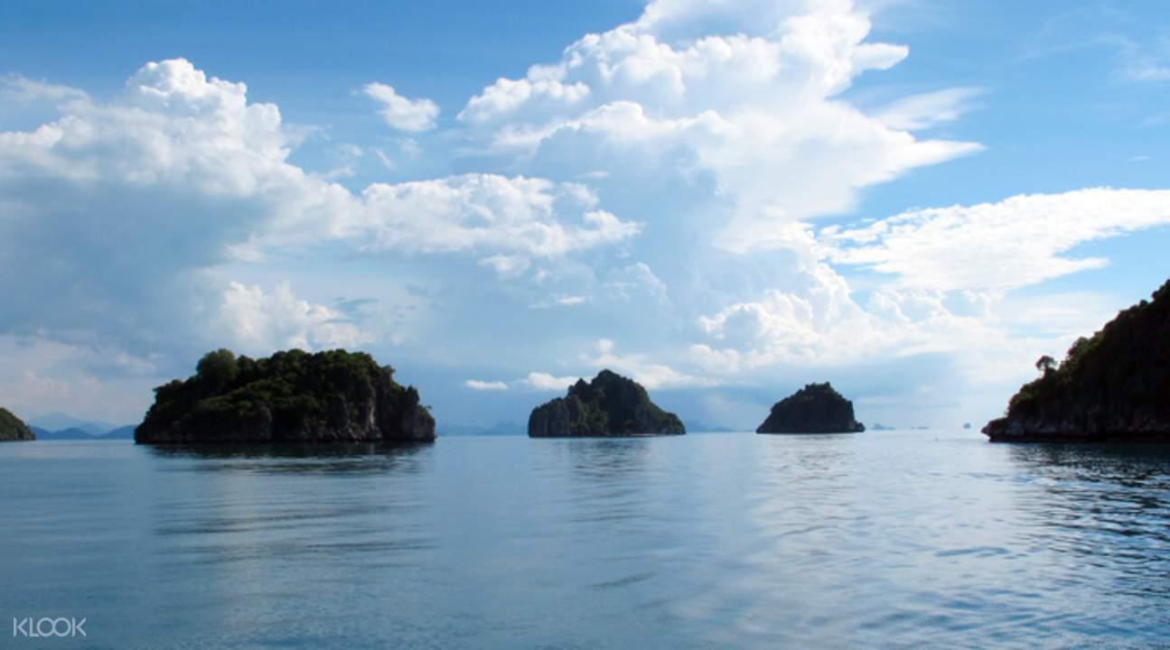普吉岛安通海洋公园一日游
