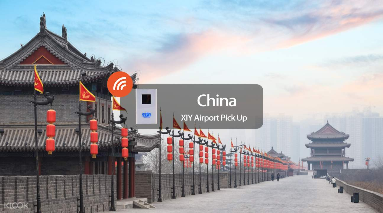 4G WiFi (XIY Airport Pick Up) for China