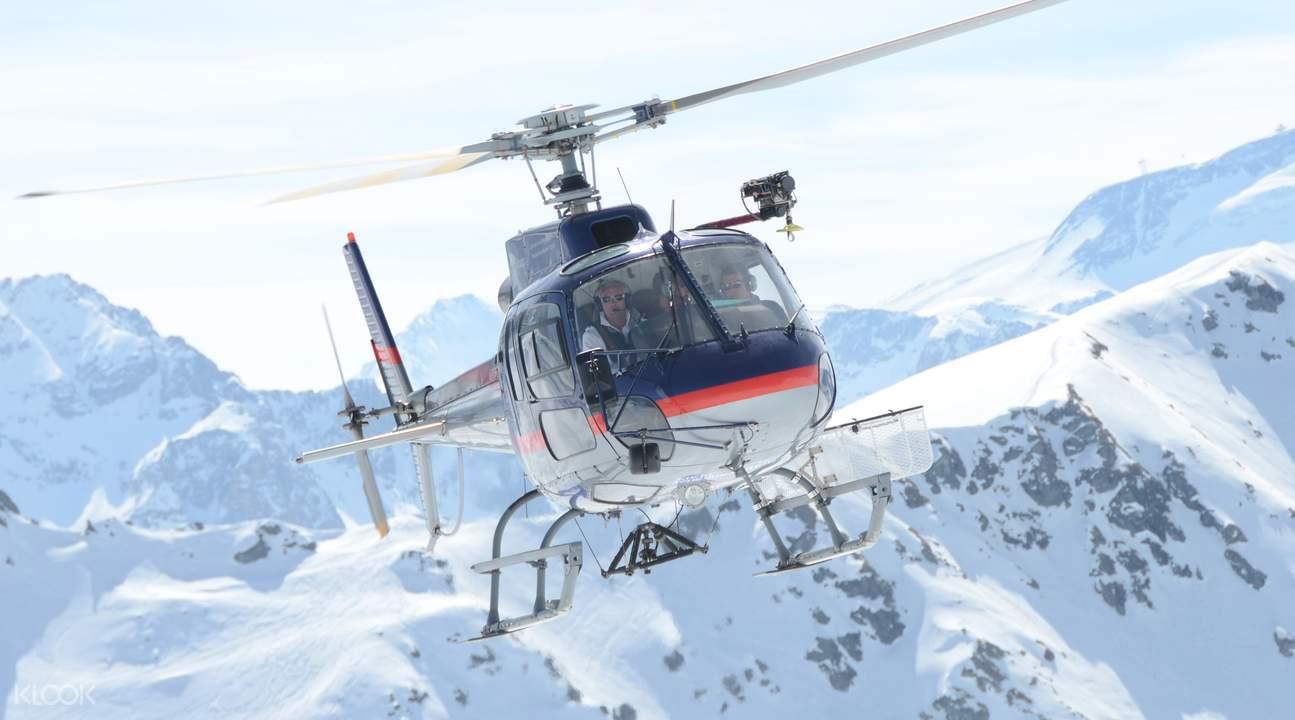 勃朗峰直升機觀光