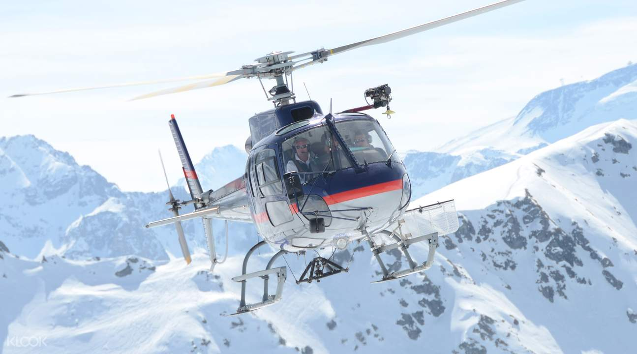 mont blanc helicopter experience