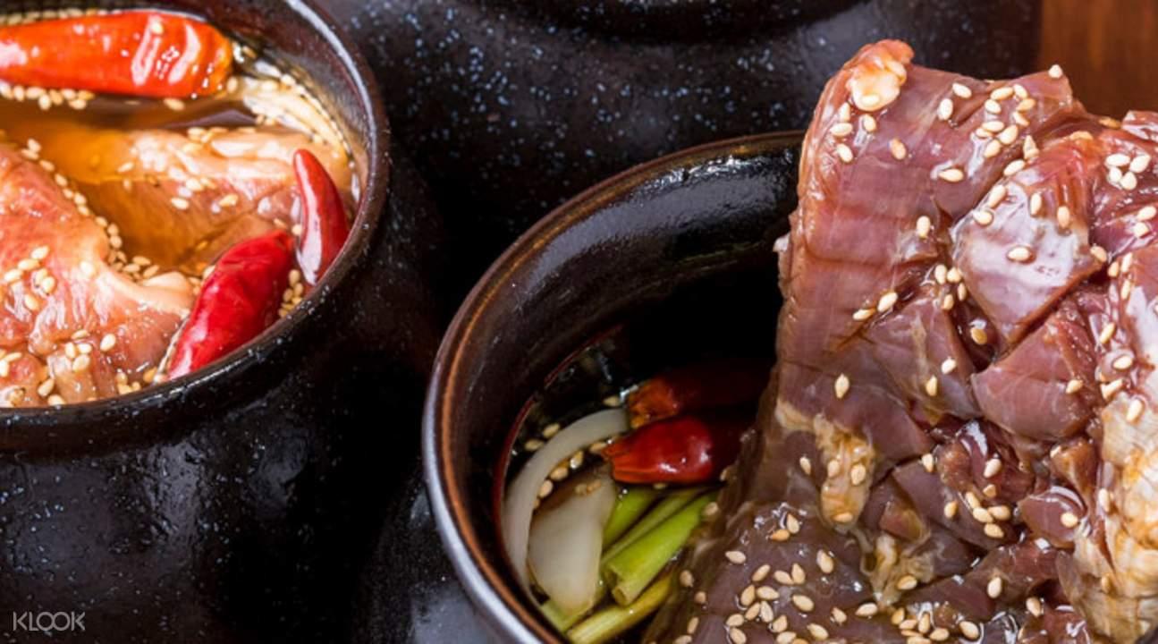 通過Klook預訂日本東京涉谷牛丸烤肉店