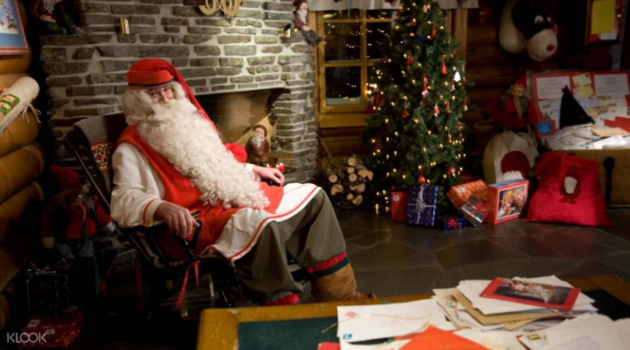 Finland Meet Santa Claus at the Arctic Circle