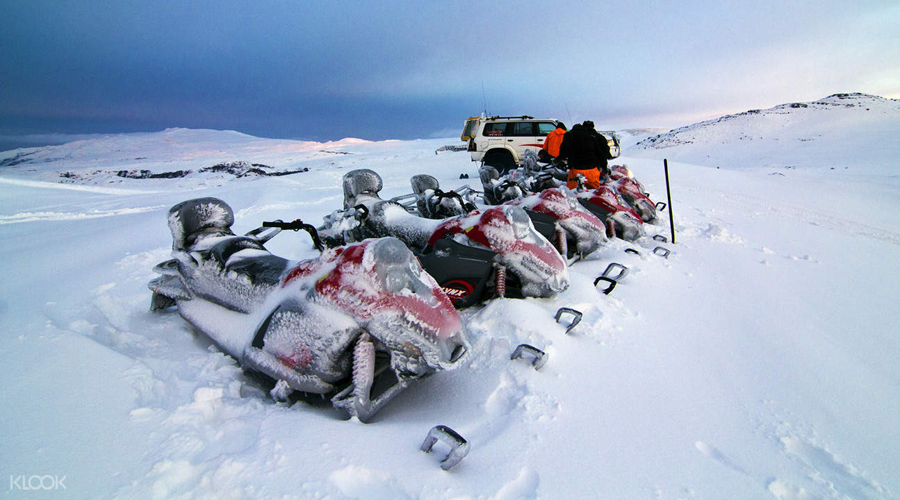 Langjökull Snowmobile