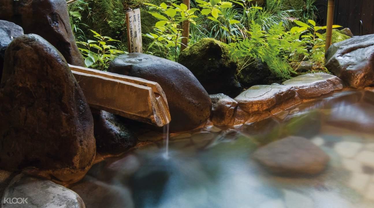 箱根蘆之湖室外溫泉