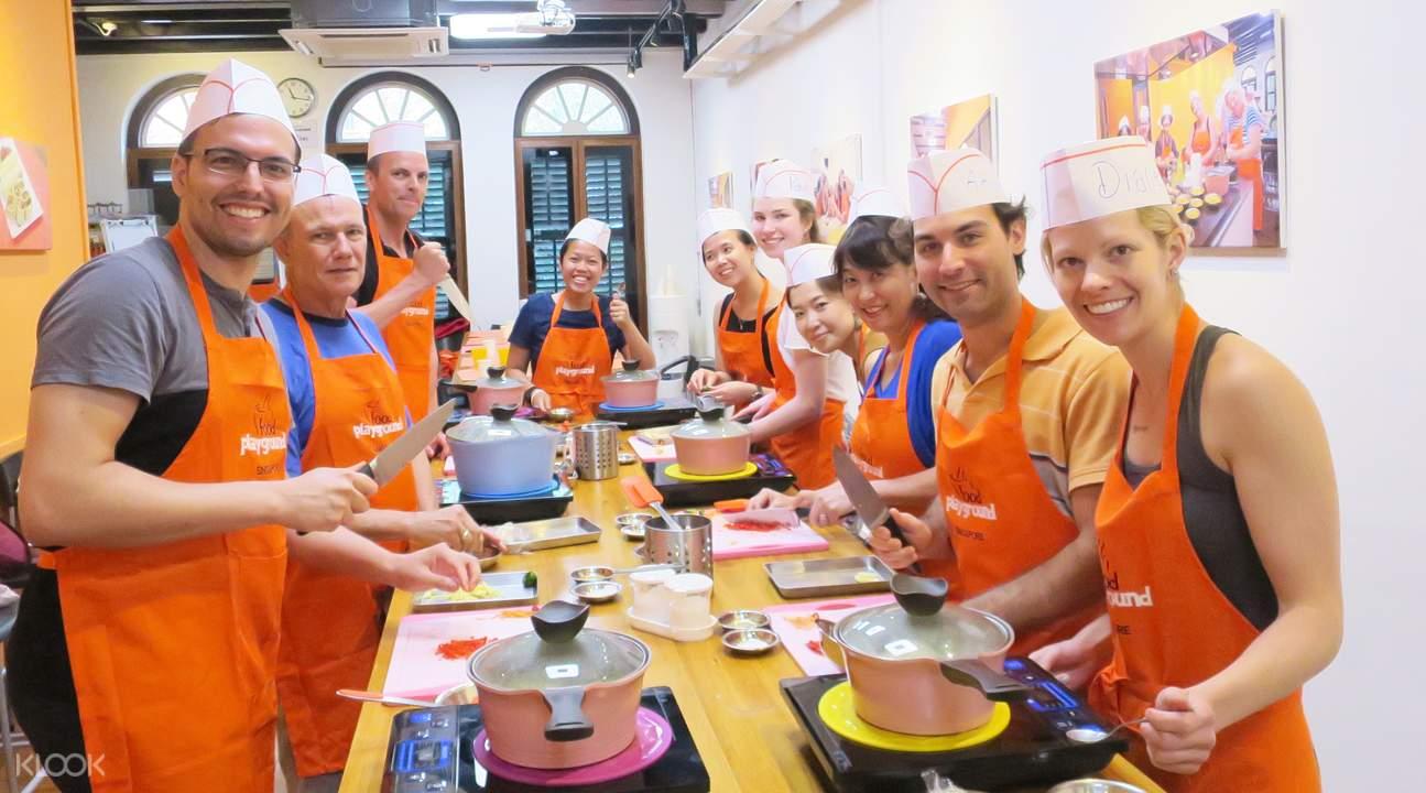 新加坡美食烹飪課