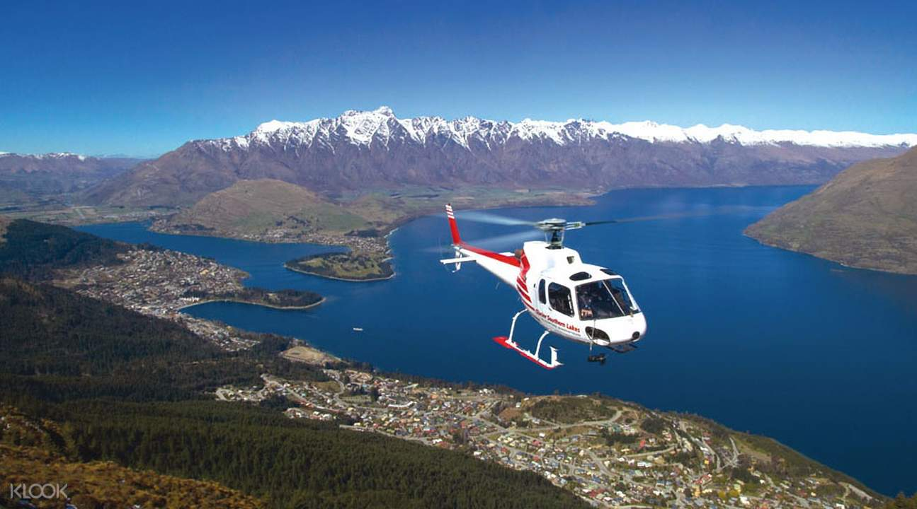 Helicopter Flight to Milford Sound