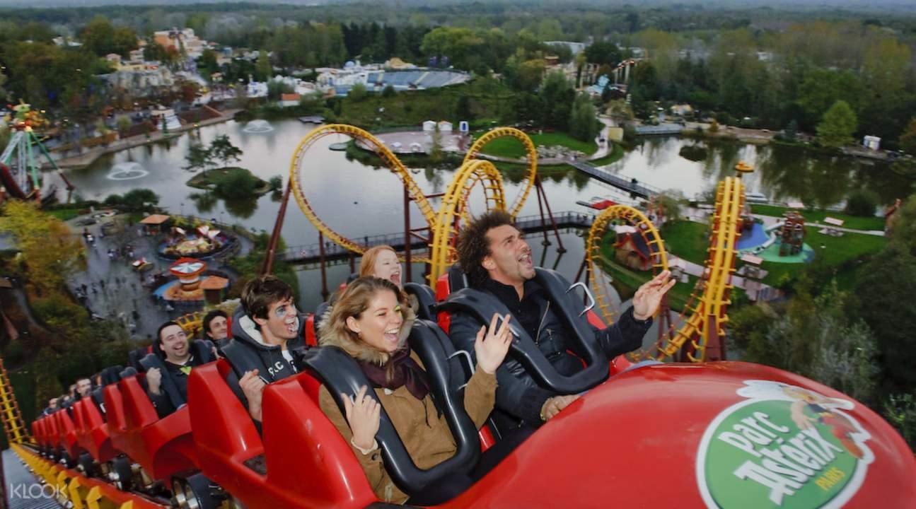 parc asterix entry ticket