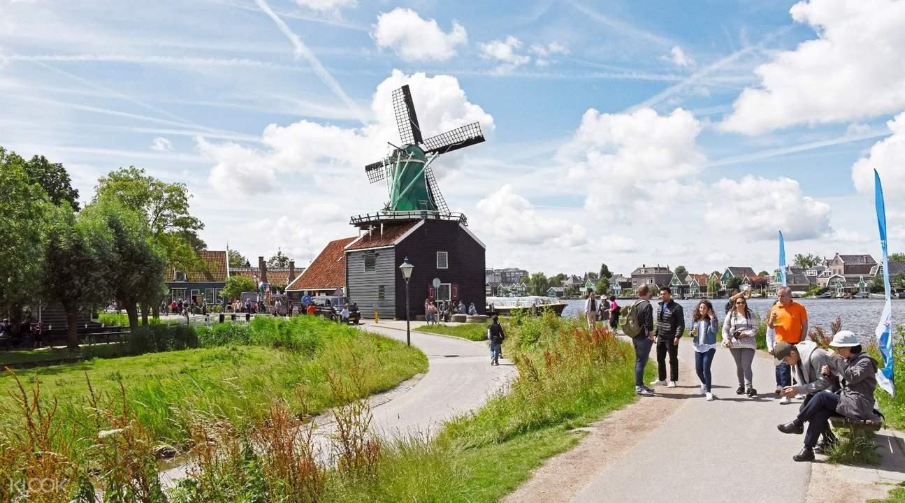 Zaanse Schans tourism