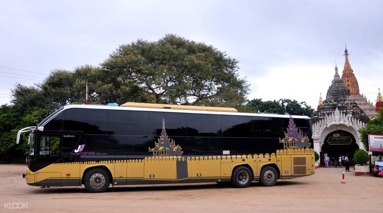 VIP Bus Ticket (One Way) between Yangon and Inle Lake