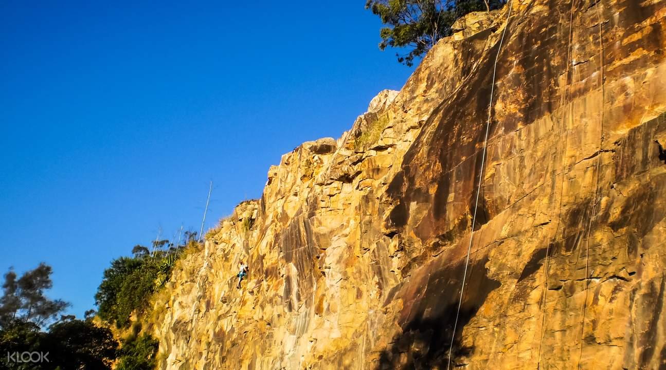 袋鼠角攀岩