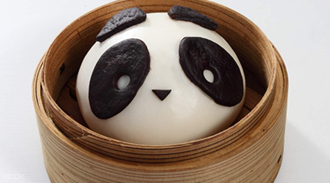 河川生态园熊猫妈妈小吃餐厅餐券