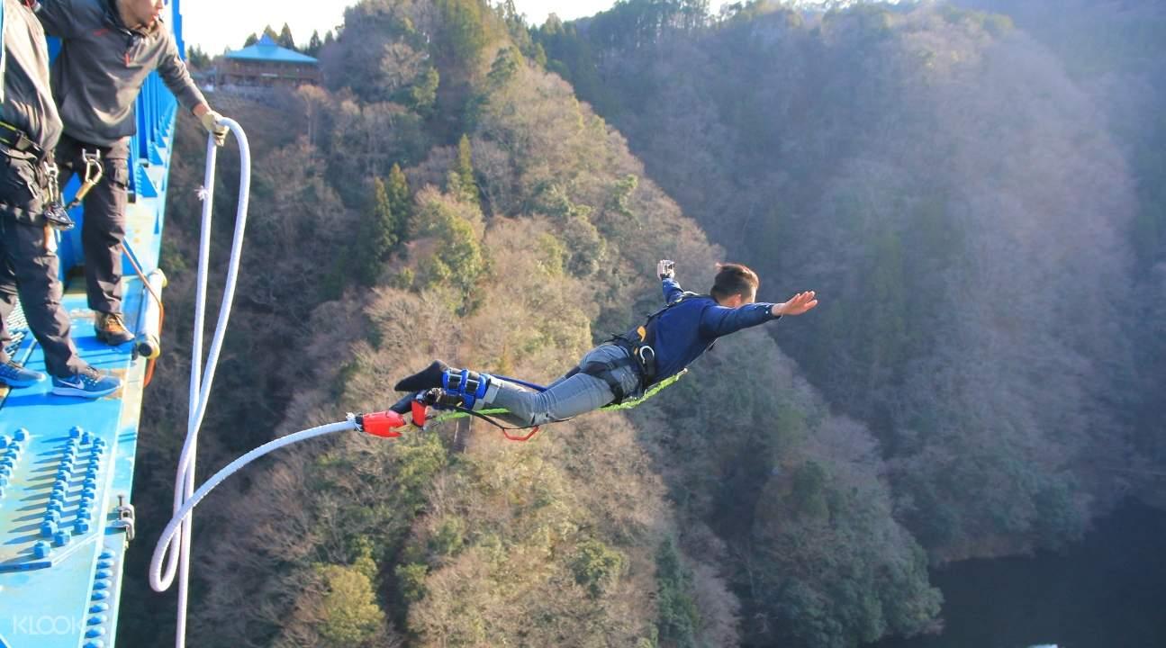 ibaraki ryujin bridge, ibaraki from tokyo, bungee jumping in ibaraki, ryujin bridge bungee jumping, ryujin bridge bungee jumping experience