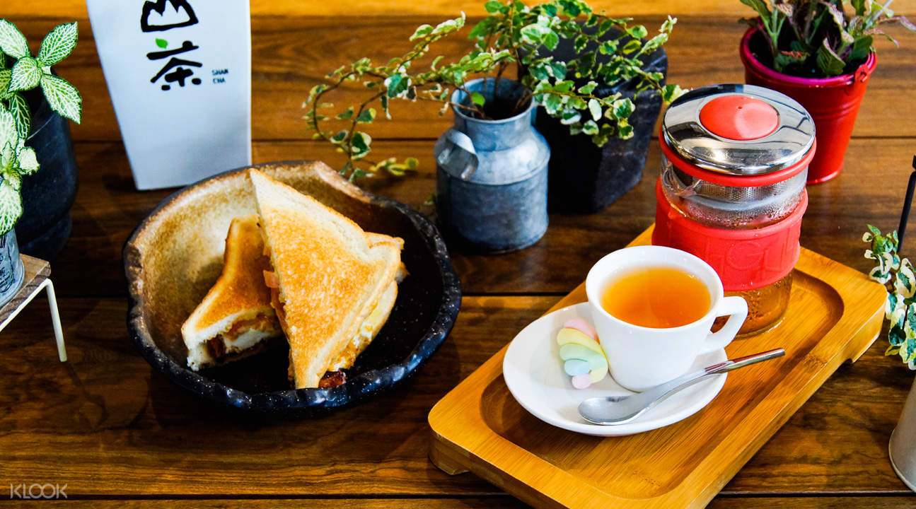 新加坡Shan Cha 山茶- 牛車水