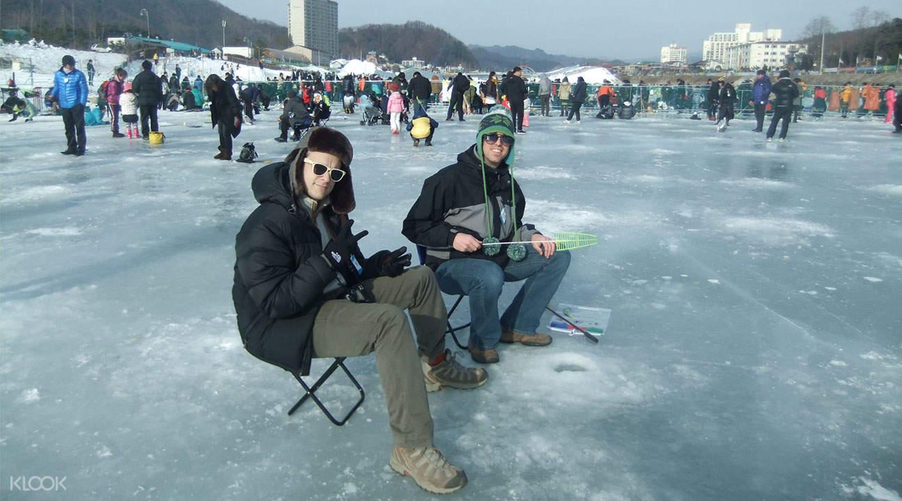 平昌釣冰魚