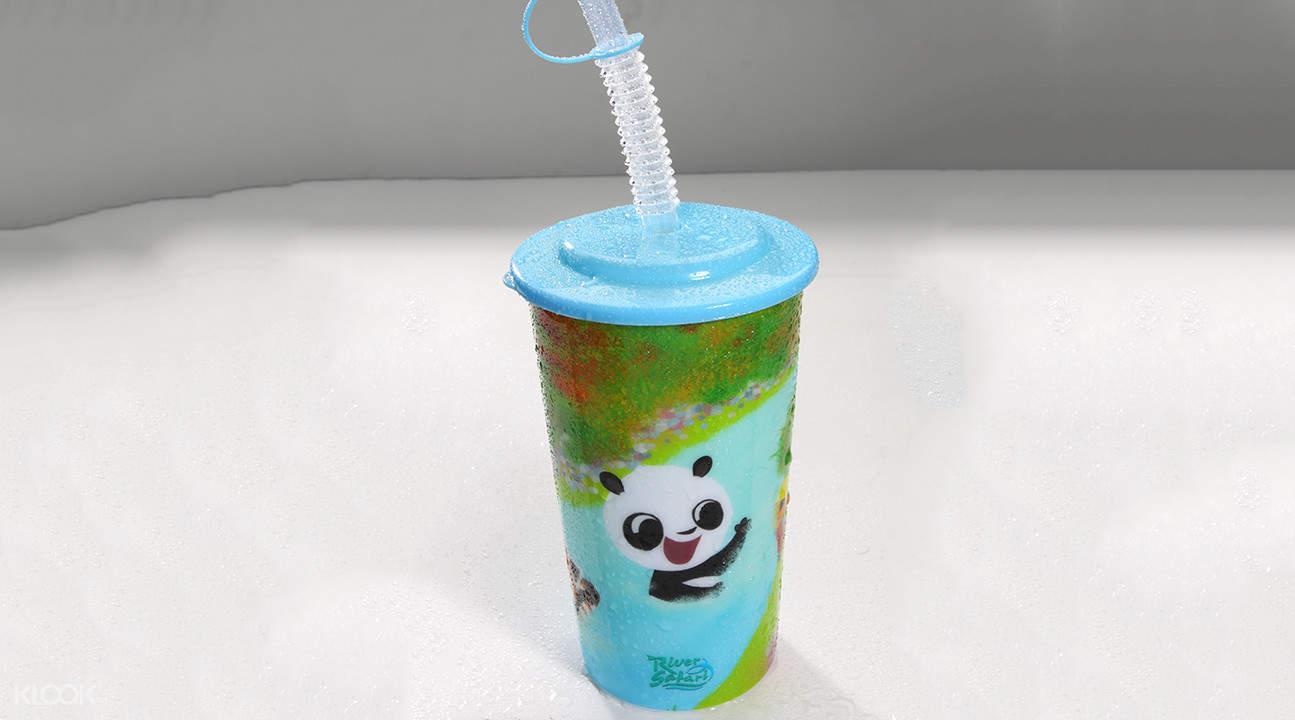 河川生態園熊貓媽媽小吃餐廳餐券
