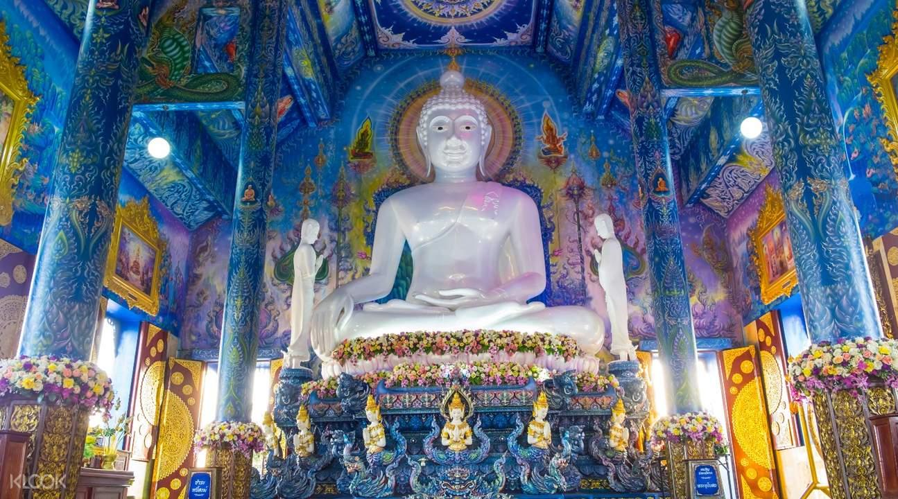 泰国 清莱 蓝庙