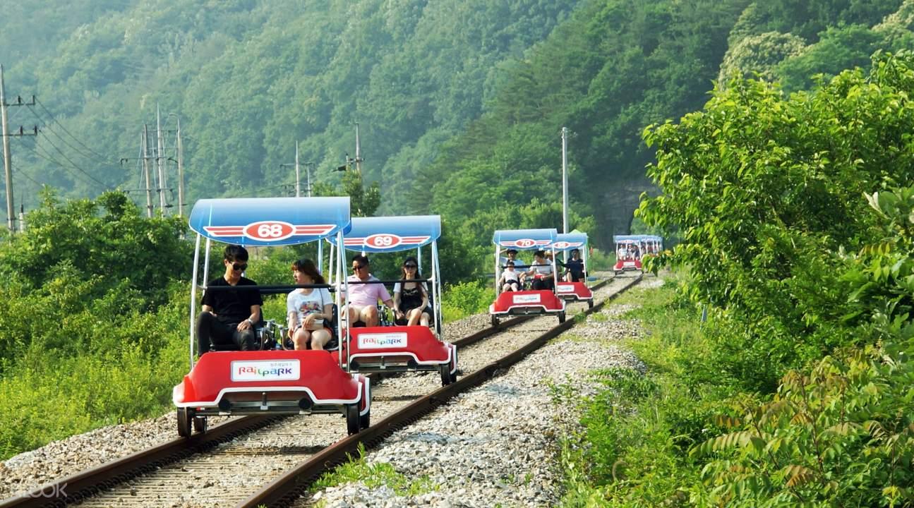 Gangwon rail bike