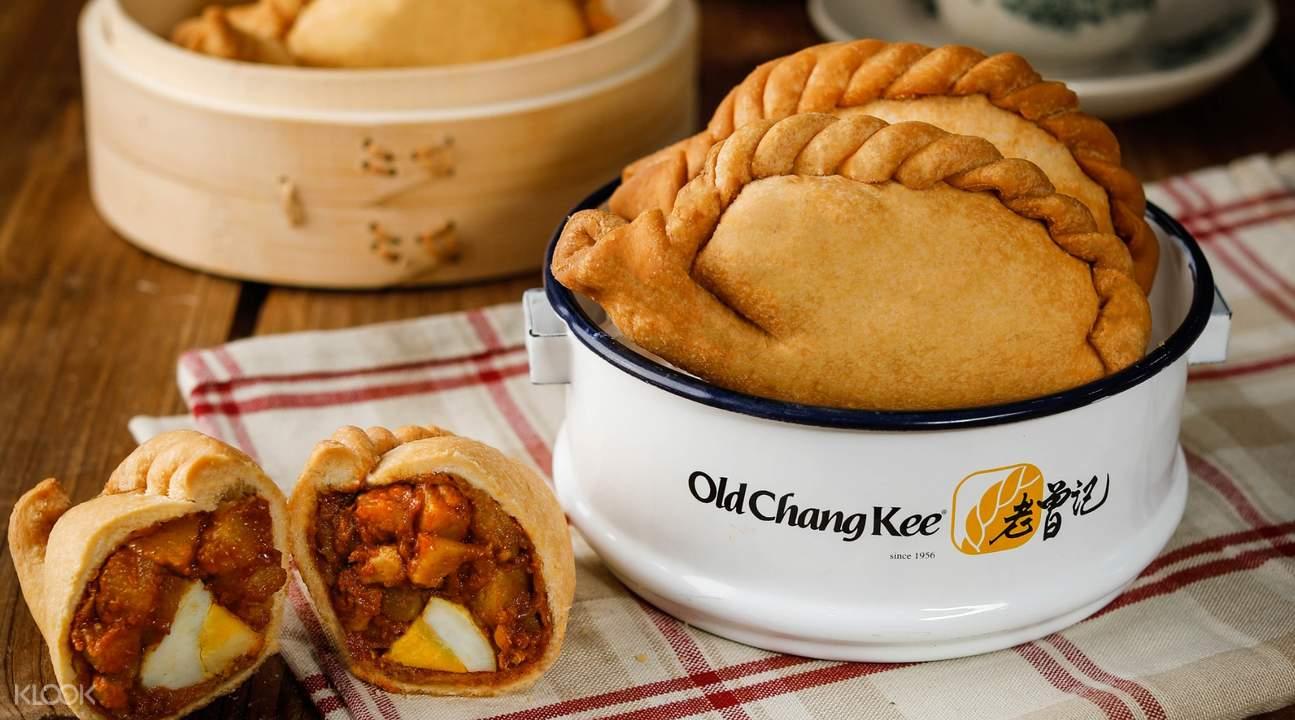Old Chang kee Puffs