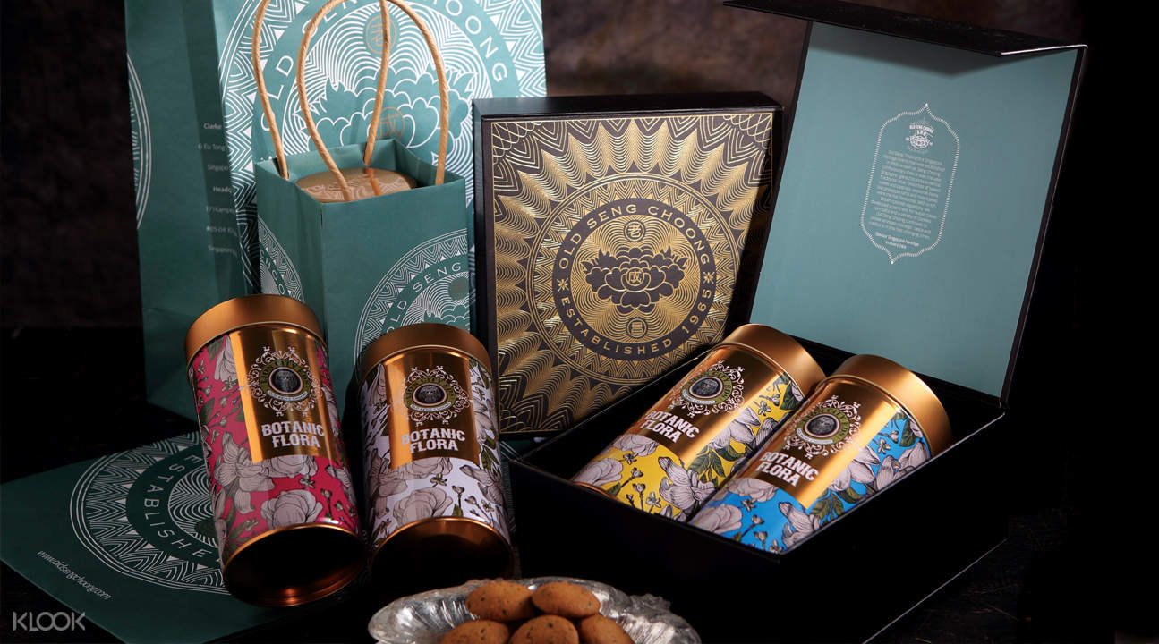 set a asian signature cookies gift set