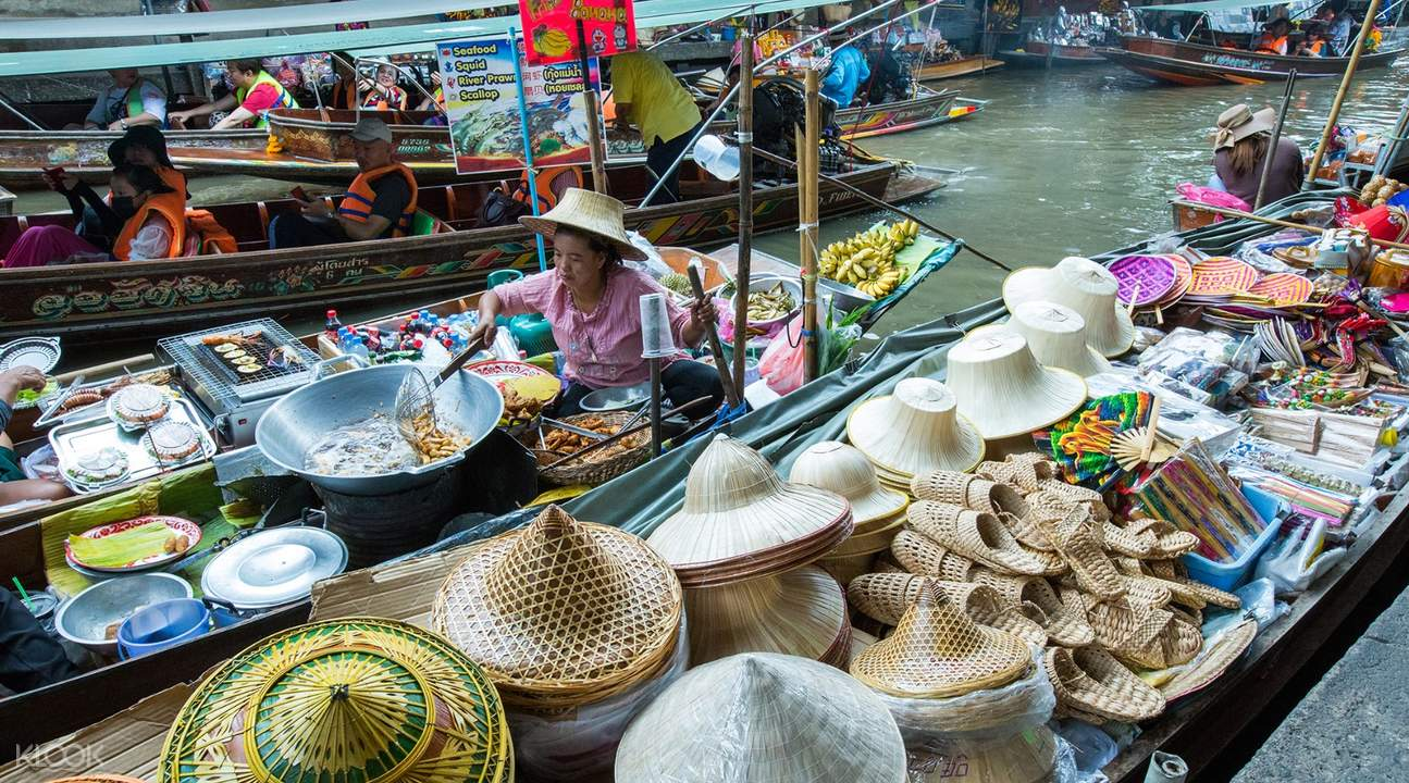 Bangkok floating markets