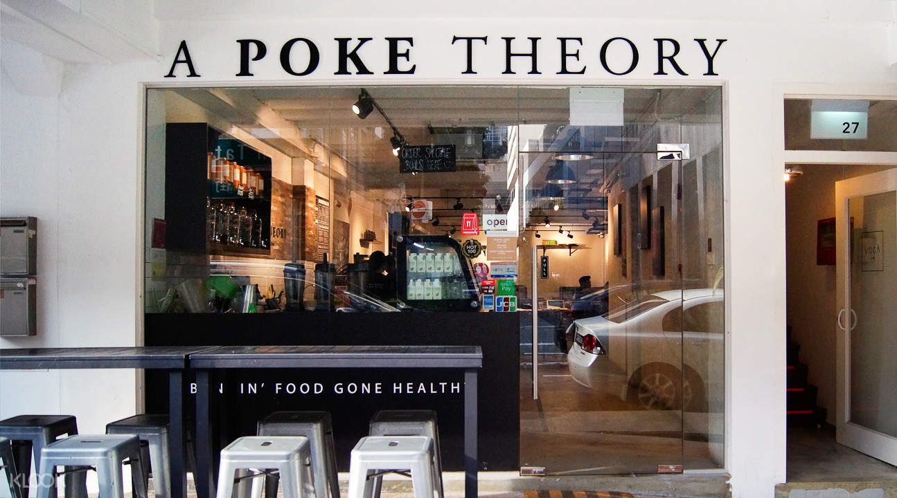 klook discount a poke theory bugis singapore