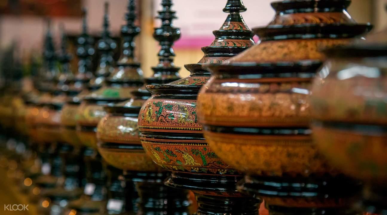 workshop in lacquerware bagan