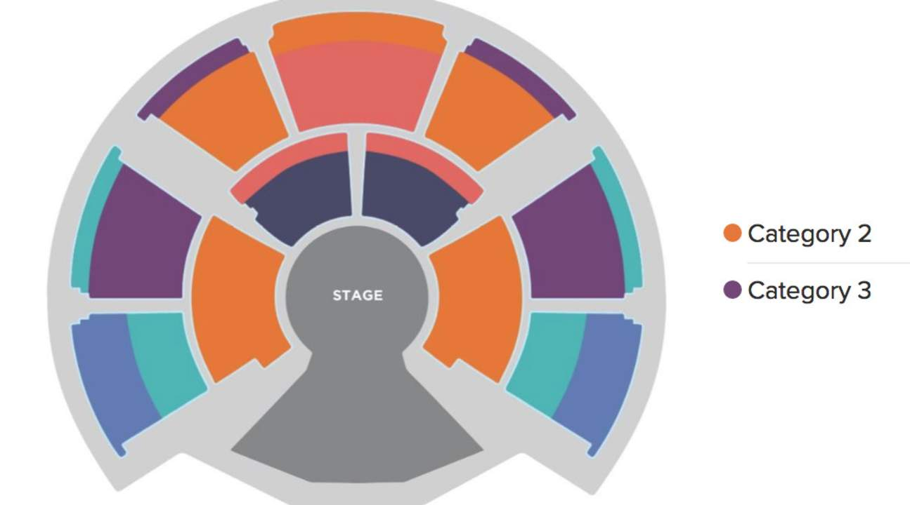 Ciqrue du Soleil KOOZA central hong kong Seat Map