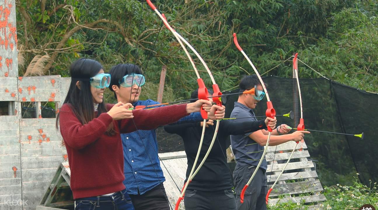 Taiwan archery range